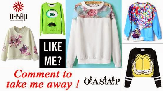 Oasap giveaway on my blog!
