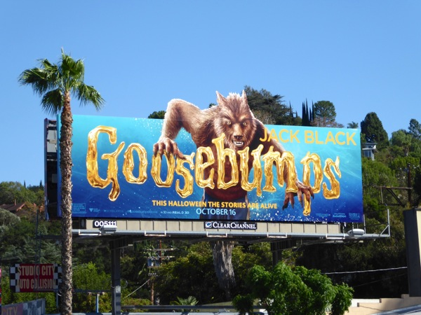 Goosebumps Werewolf billboard