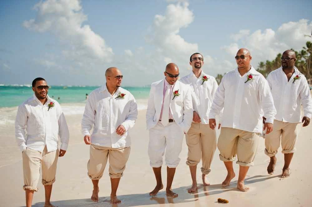 Mens destination wedding attire ideas in the beach will be good to