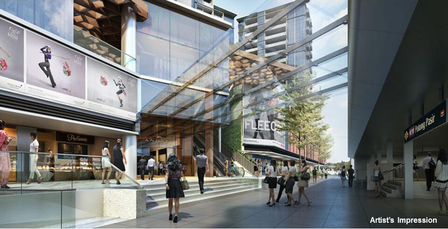 The Poiz Residences Singapore Retail Space