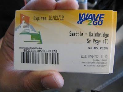 bainbridge ferry, Seattle, puerto Seattle