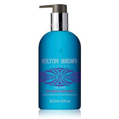 Molton Brown, Molton Brown hand soap, Molton Brown soap, soap, hand soap, Molton Brown Rok Mint Hand Wash, Molton Brown hand wash