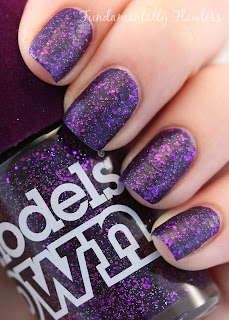 Fundamentally Flawless: Models Own Amethyst Velvet Goth Collection Swatch