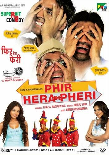 Phir Hera Pheri 2006 Hindi HDRip 720p 1.1GB