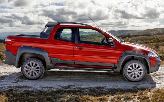 Nova Fiat Strada 2014 Adventure