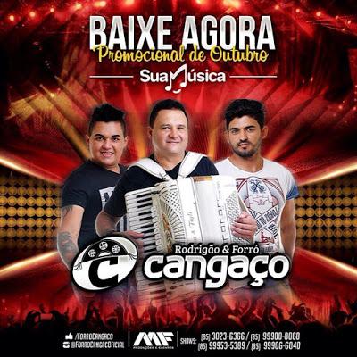 RODRIGÃO & FORRÓ CANGAÇO CD PROMOCIONAL - OUTUBRO 2015