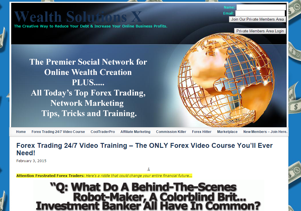 Forex trading training videos