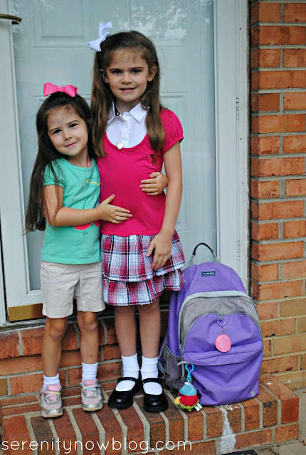 First Day of School, Serenity Now blog