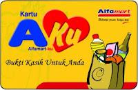 kartu aku dari Promo Member Alfamart Minimarket Lokal Terbaik Indonesia