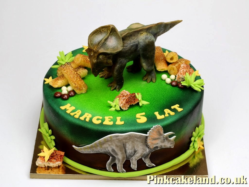 Dinosaur Birthday Cake in London