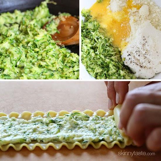 Zucchini Rolls Stuffed With Ricotta Recipes — Dishmaps