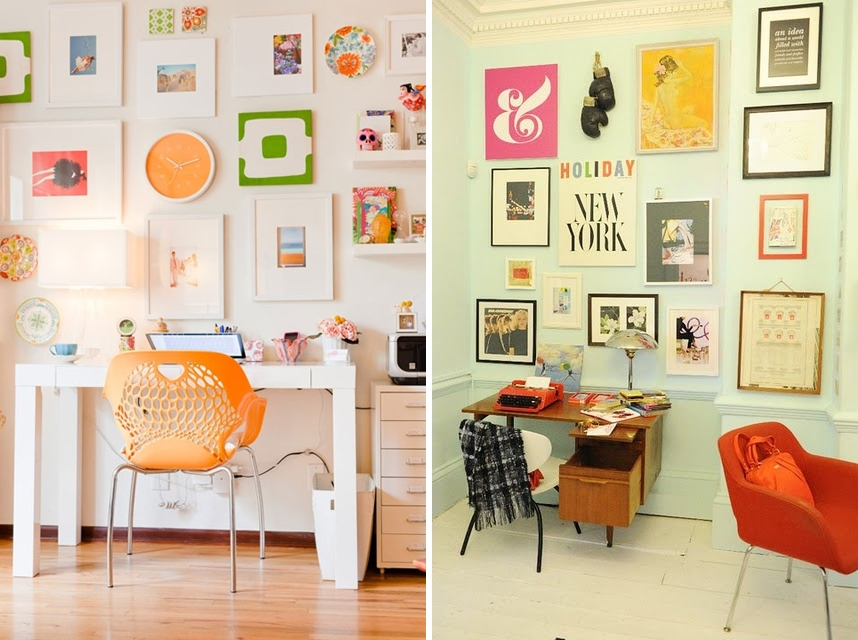 como decorar com quadros