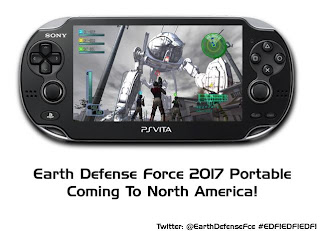 edf 2017 portable promo Earth Defense Force 2017 Portable Announced For North America