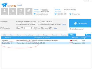Serveur VPN Afrique