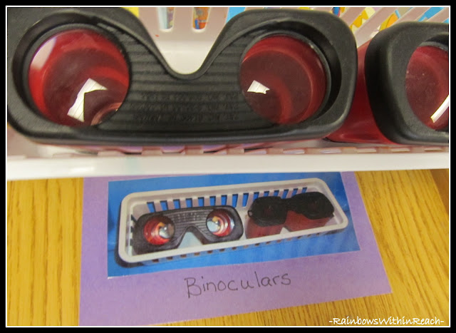 photo of: Science Tools for Preschool: Binoculars for Exploration