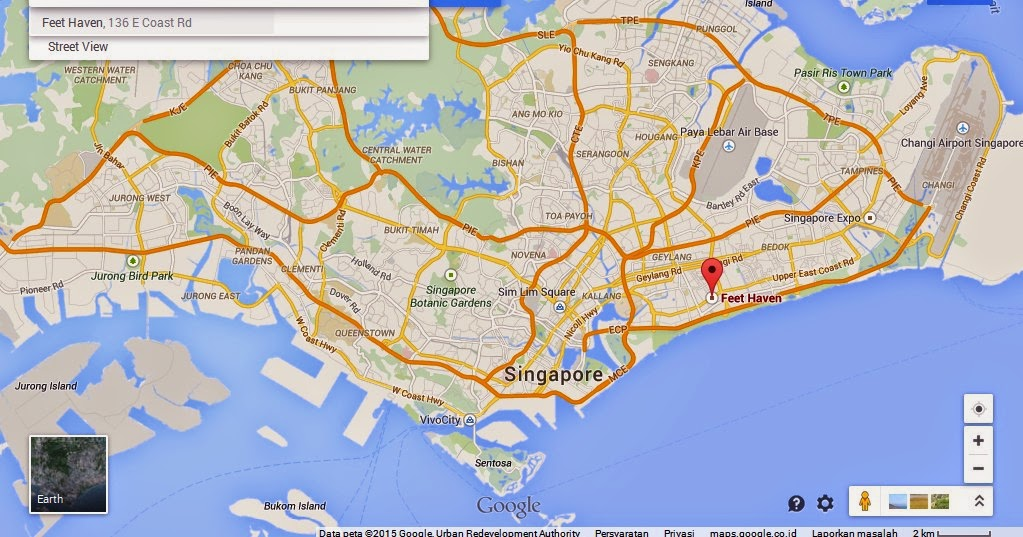 Feet Haven East Coast Singapore Map Tourist Attractions in – East Coast Tourist Attractions Map
