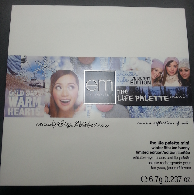 em michelle phan | The Life Palette Moments | Winter Life: Ice Bunny Edition