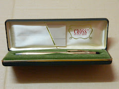 ads - CROSS 10k gold plated pen