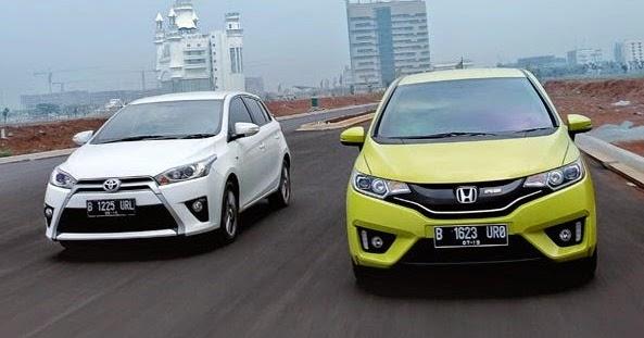 Honda Jazz Vs Toyota Yaris Mana yang Lebih Unggul ...