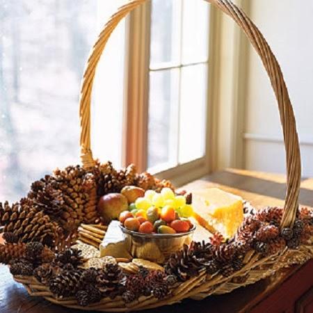 10 ideas de decoracion de navidad con pi as de pino iv parte - Pinas decoradas para navidad ...