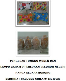 LAMPU GARAM & TUNGKU MODEN