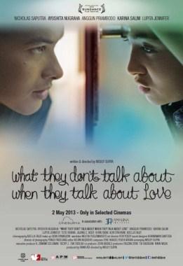 sinopsis film yang tidak dibicarakan ketika membicarakan cinta