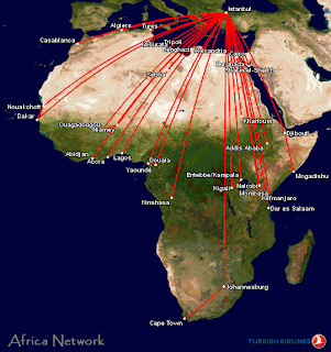 Turkish Airlines Africa Network