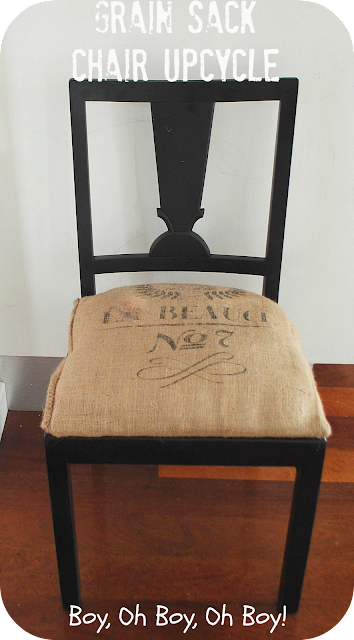 upcycled kitchen chair