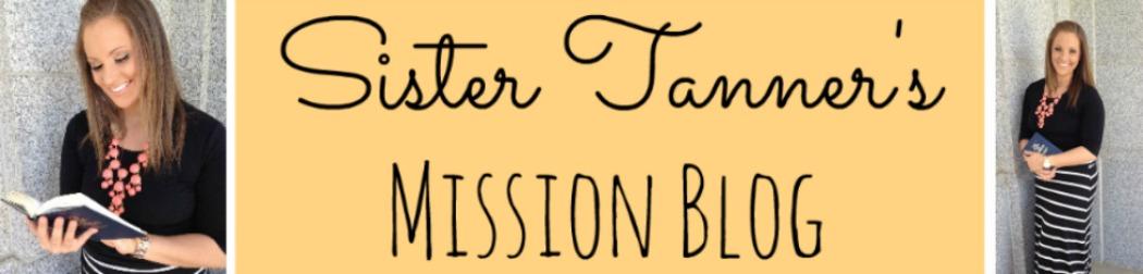 Sister Tanner's Mission Blog