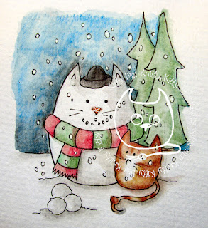 Snowcat on Etsy