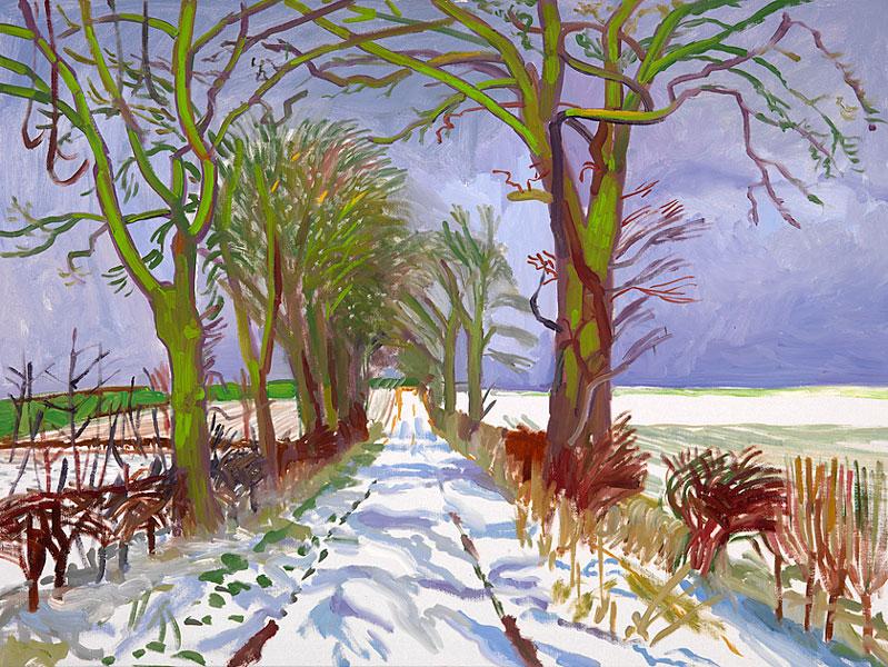 David hockney 1937 pop art painter tutt 39 art for David hockney painting