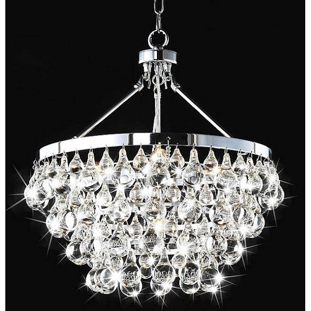 copy cat chic arctic pear chandelier. Black Bedroom Furniture Sets. Home Design Ideas