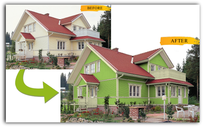 Im into that how to choose exterior house paint colors - House paint colour matching ...