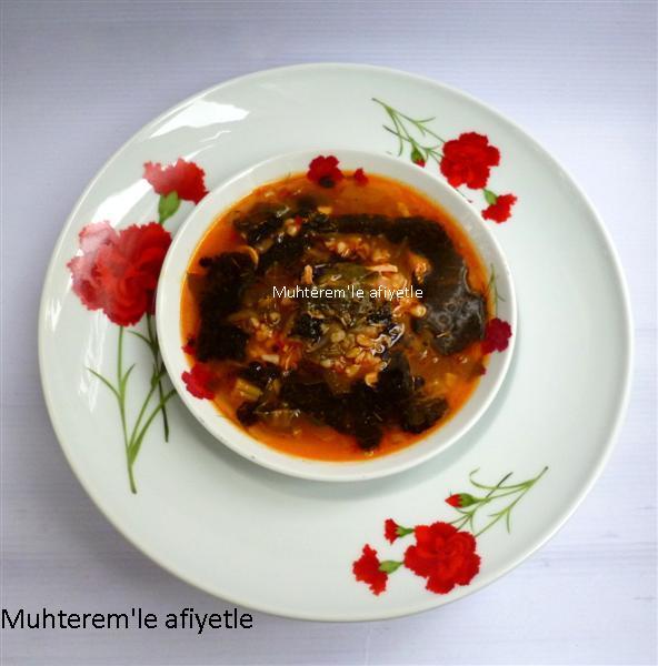 pazılı çorba