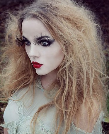 Mujer Estilo y Belleza Maquillaje para Halloween 2015