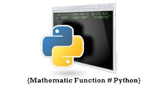 Pengenalan Fungsi Matematika Pada Python Referensi