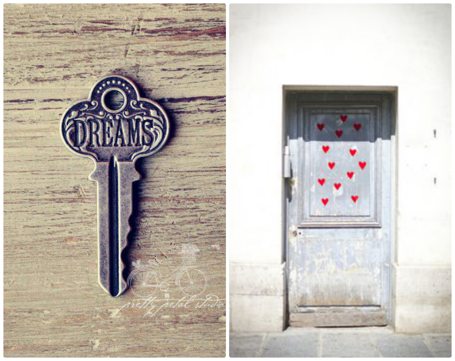 key to your dreams door open hearts