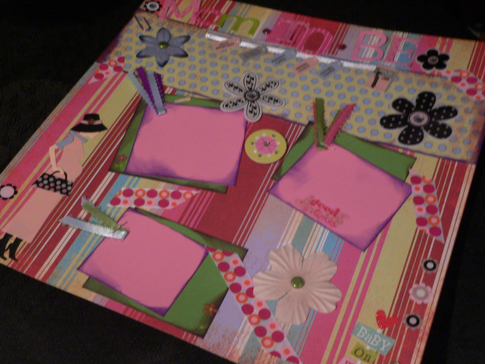 Baby girl scrapbook ideas - Posh 5 003 Jpg