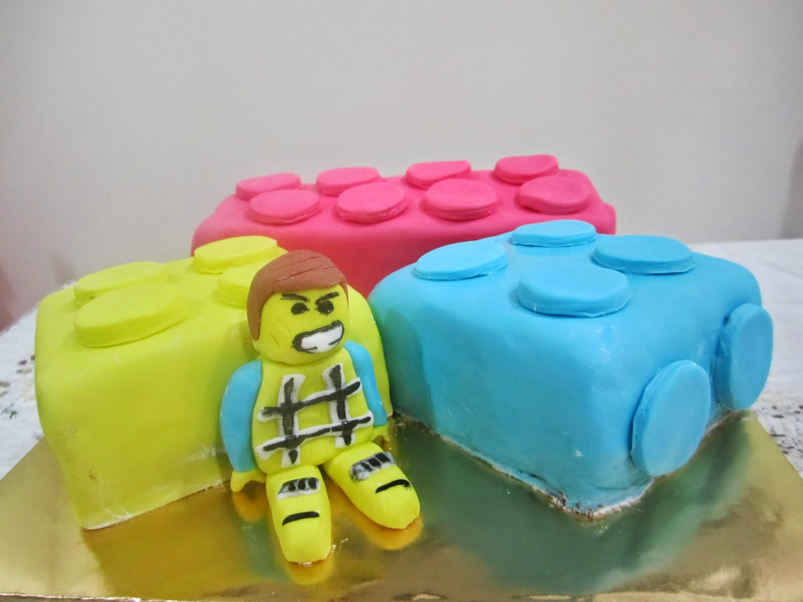 Lego Cake for Birthday