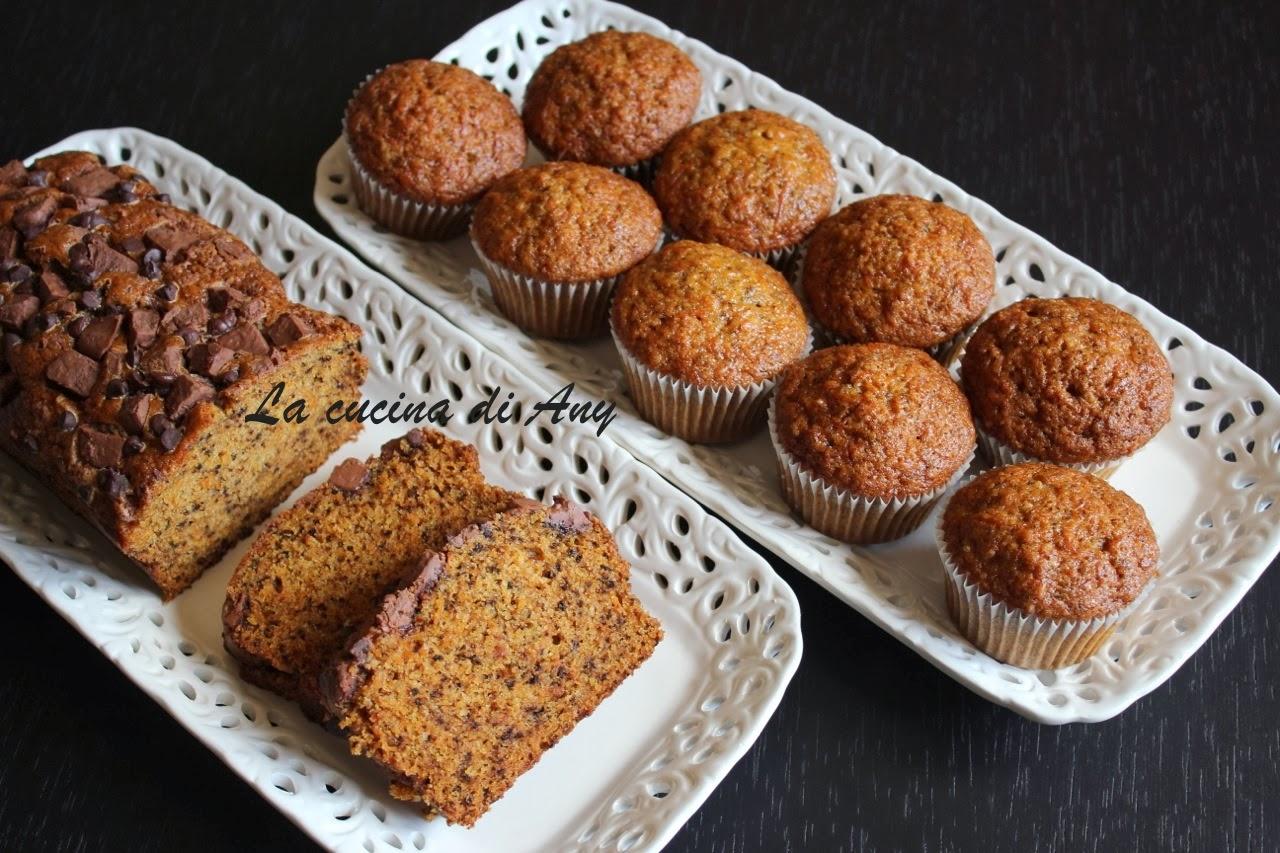 muffin e cake alle carote  - muffin si chec cu morcovi