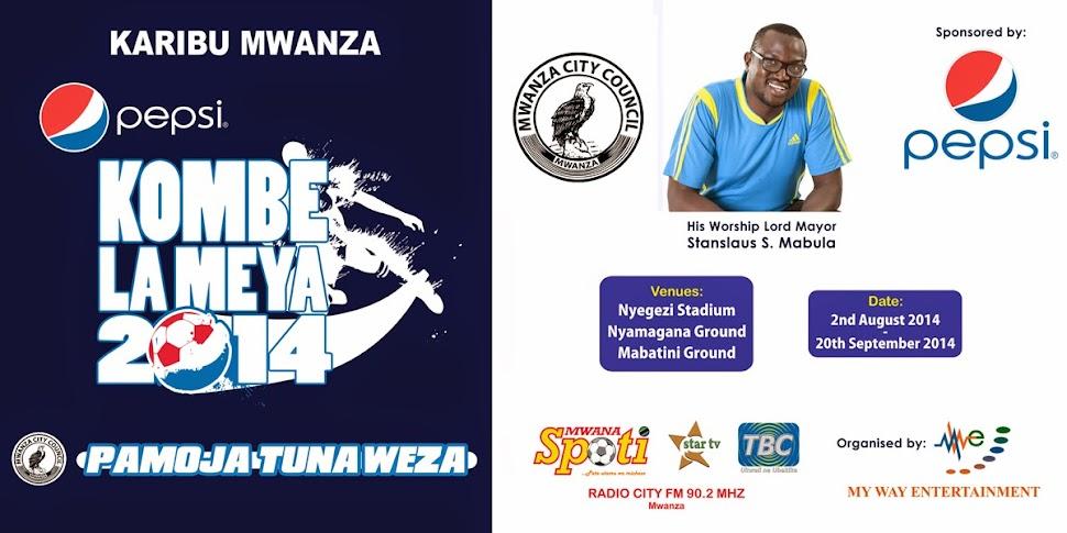 MKOLANI FC NDIYO MABINGWA WA PEPSI KOMBE LA MEYA 2014 MWANZA