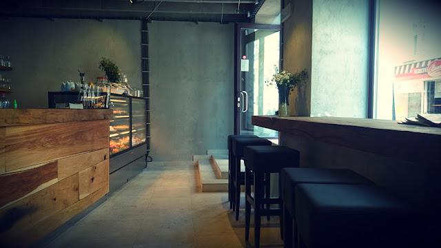 Interiér Café Momenta