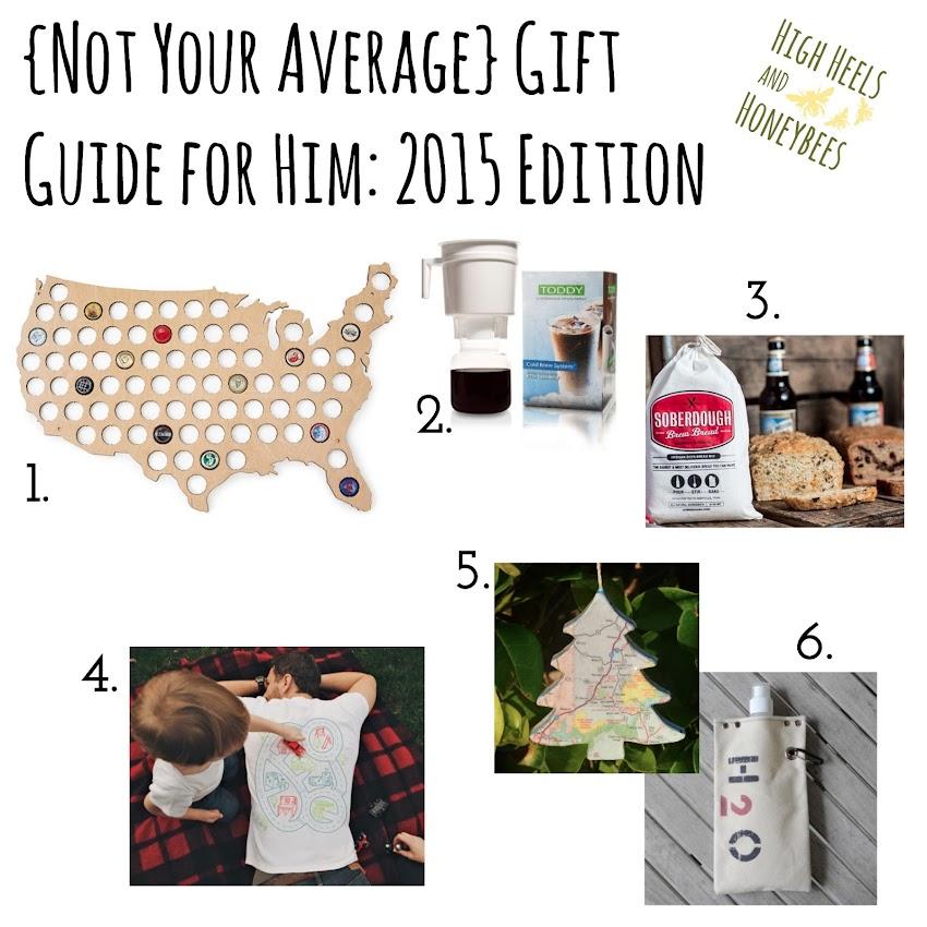 Christmas Shopping List 2015: For Him