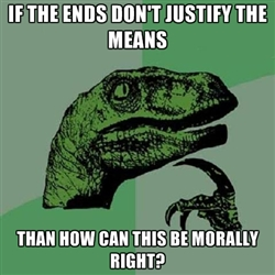 The End Doesn Justify Means Essay - Essay Topics The End Does Justify ...