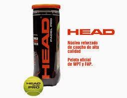 BOTE de BOLAS HEAD PRO 4,50€