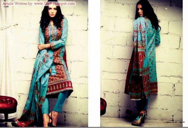 Firdous Cambric Eid Collection 2014-2015