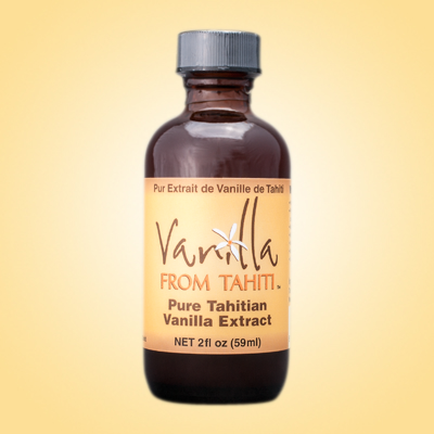 Vanilla From Tahiti, 2 oz Extract