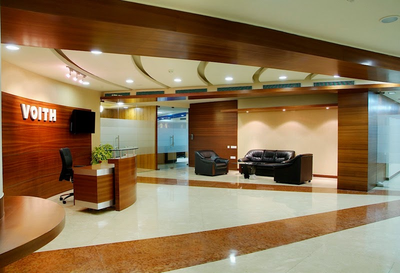 Best interior decorator delhi for Modern corporate office design