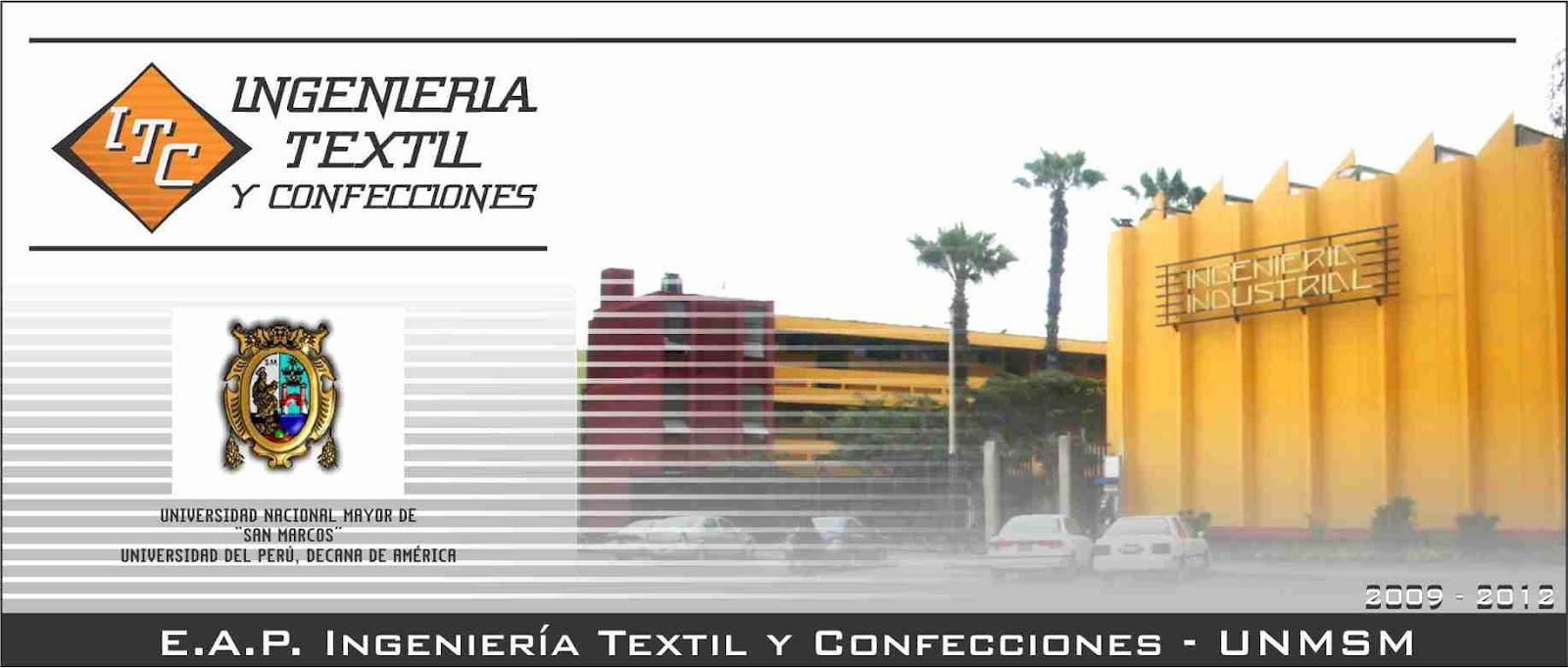 E.A.P. Ingeniería Textil y Confecciones - UNMSM