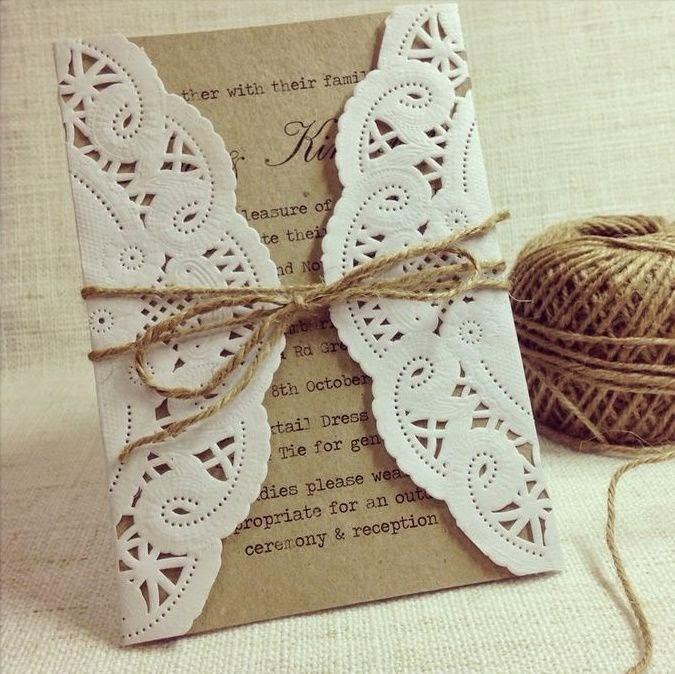 estas estilo vintage con blondas cordn puntillas y papel craft me han encantado